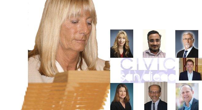 Donna Frye keeps a close eye on the Civic San Diego board