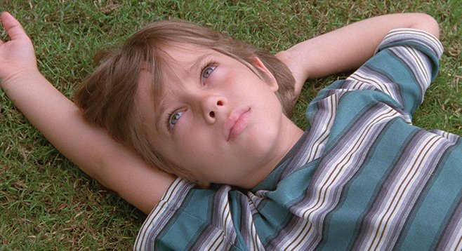 Watching Ellar Coltrane grow is the subject of Richard Linklater's Boyhood.
