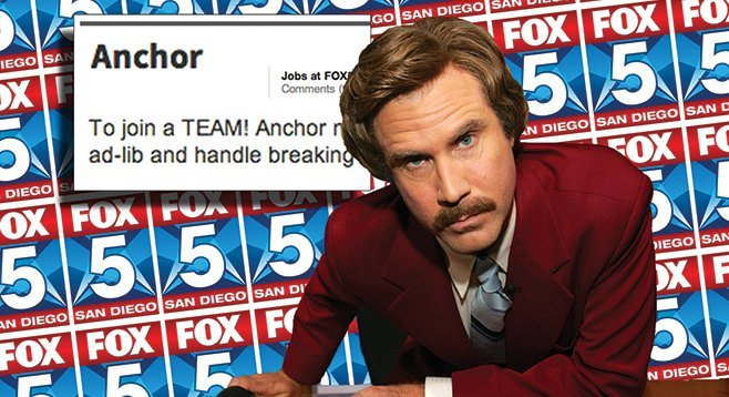 Don't be surprised to see Ron Burgundy back on the air again.