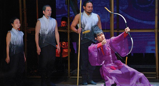"Orphan of Zhao, now at La Jolla Playhouse, has been called the ""Chinese Hamlet."""