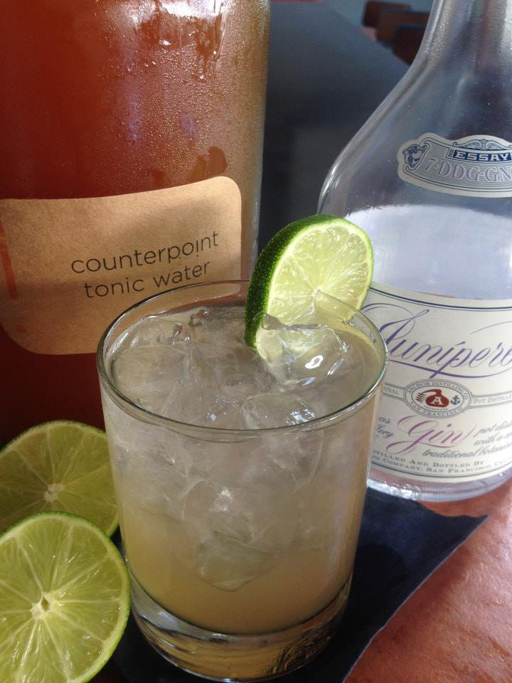 The Counterpoint Gin & Tonic