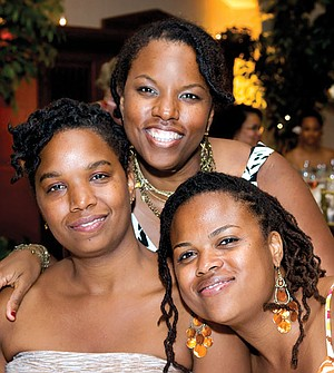 """Asante Salaam (top, with her sisters) says, """"I don't think ever in my time in San Diego did I feel socially at home."""""""
