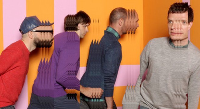 L.A. alt-pop act OK Go take the stage at Belly Up Thursday night.