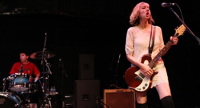 Pop-punk trio the Muffs will preview Whoop Dee Do for a Casbah crowd on Saturday.