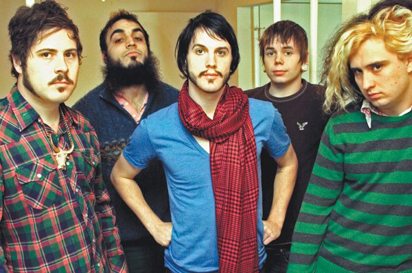 Seventies-style stadium rockers Foxy Shazam bring their thing to Belly Up on Tuesday!