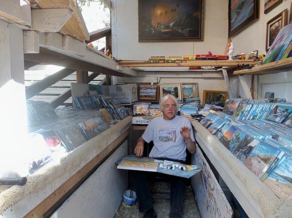 Laguna Beach artist Doug Miller.