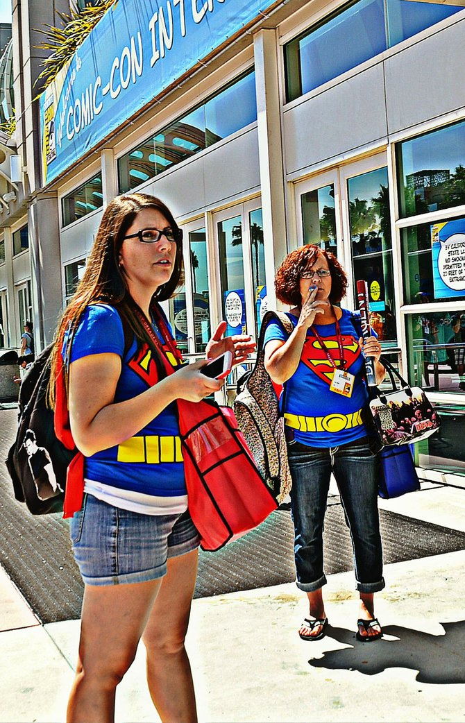 Unlikely superheroes at Comic Con