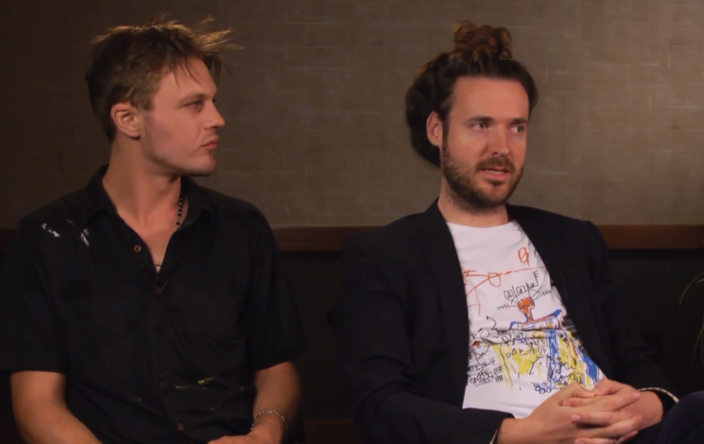 Michael Pitt and Mike Cahill