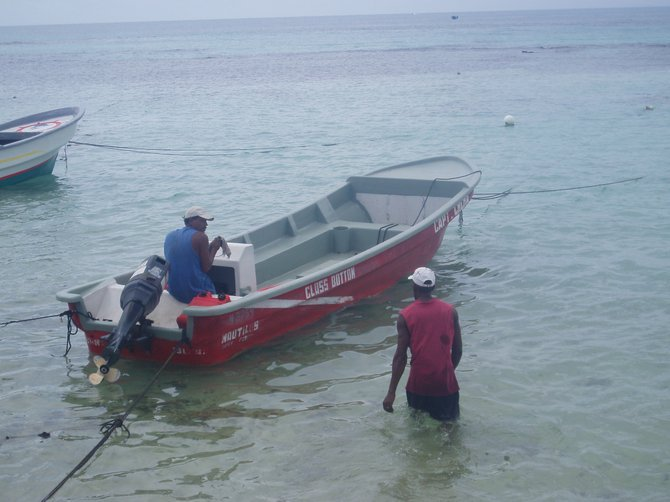 Our dive boat.