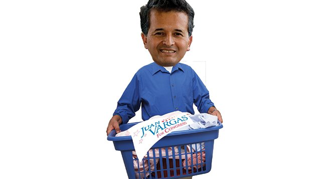 Juan Vargas carries a big load of campaign debt to the fundraising machine.
