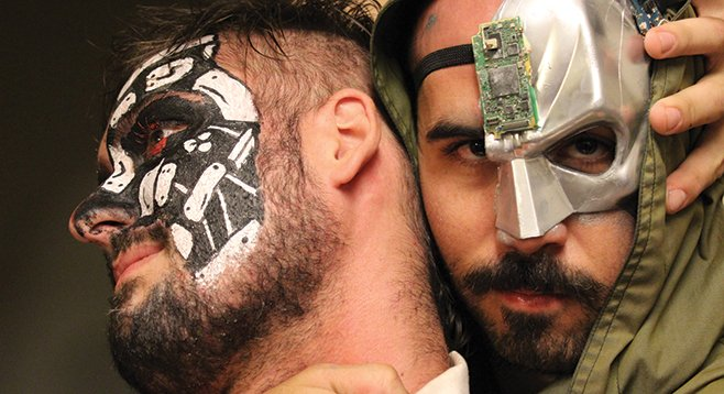 Ray and Joe were the only ones to take the cyborg theme very seriously.
