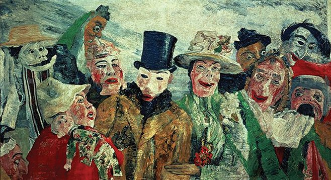 The Intrigue, by James Ensor (1890)