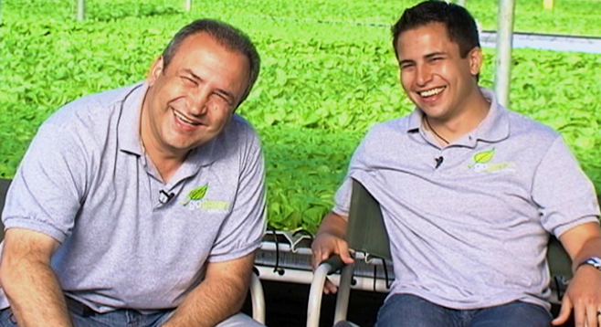 Pierre Sleiman and his son Pierre Sleiman, Jr.