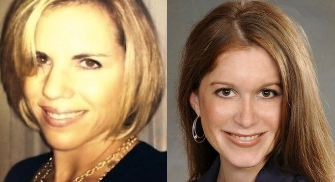 Rachel Laing and Kimberly Hale Miller
