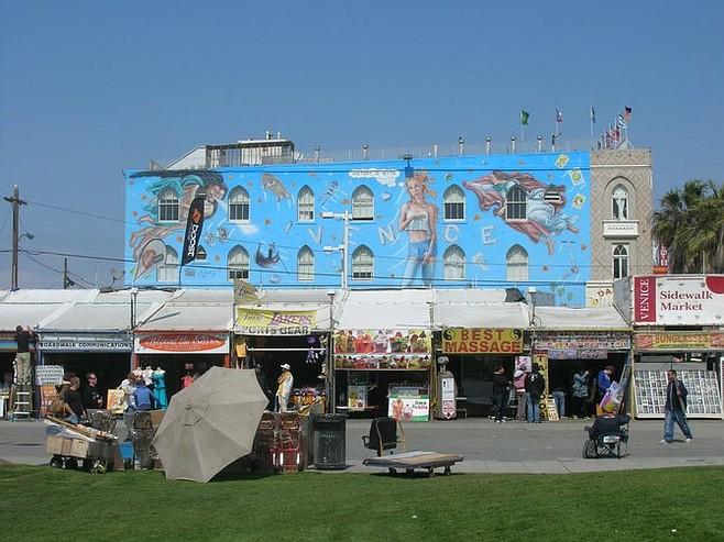 Venice Reconstituted mural.