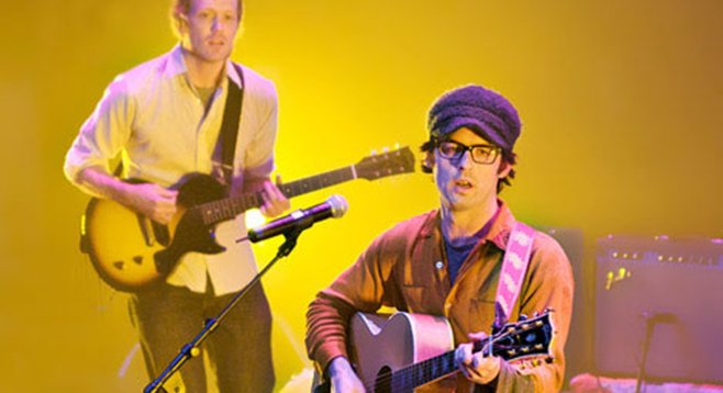Alec Ounsworth and his indie-rock band Clap Your Hands Say Yeah will split a bill at Casbah Friday night.