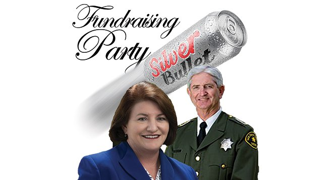 Toni Atkins and Bill Gore