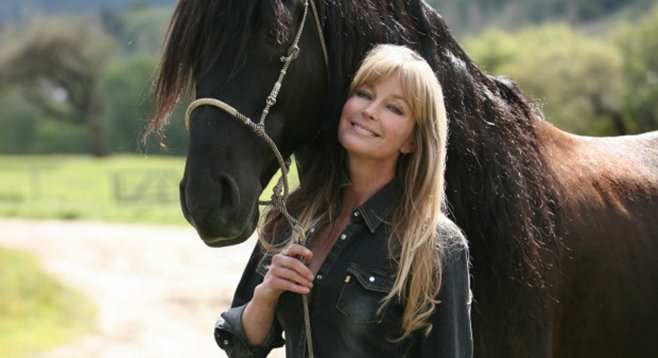 The upside to what's going on in horse racing? Bo Derek.