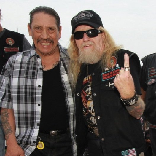 Danny Trejo and Pastor Z