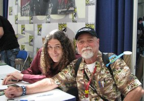 Me with Weird Al Yankovic at Comic Con 2014.
