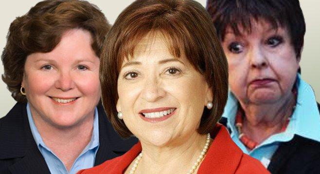 Cheryl Cox, Mary Salas, Pamela Bensoussan