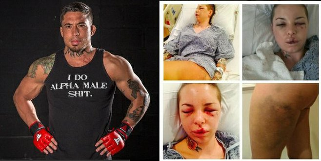 "Jonathan ""War Machine"" Koppenhaver and Christy Mack"