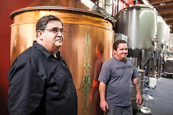 Jeff Trevaskis and Jake Pitman of Twisted Manzanita Spirits