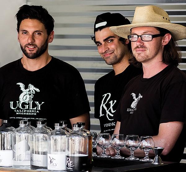 Ray DiGilio, Cyrus Kafai, and Luke Oskam of Kill Devil Spirit Co.
