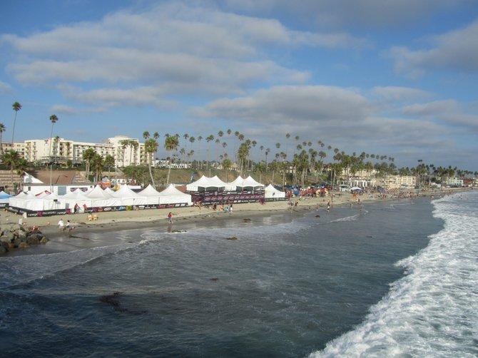 Oceanside seen from the Pier