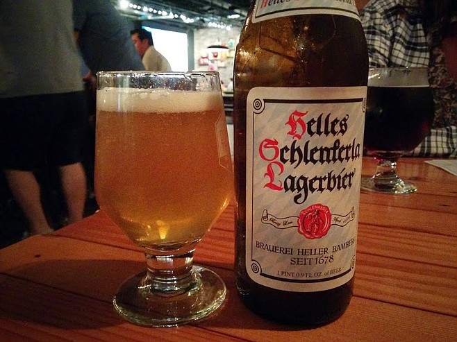 Delicious helles lager