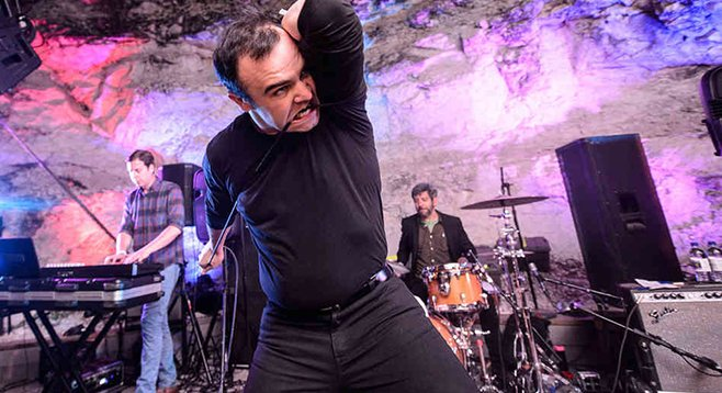 """Industrial new wave"" trio Future Islands rocks the all-ages Irenic Friday night!"