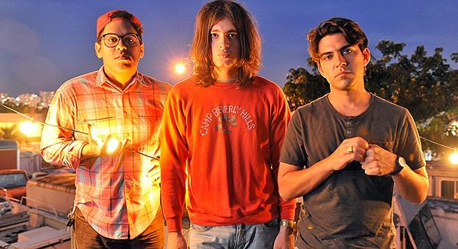 Retro trio Jacuzzi Boys soak Casbah Monday night.