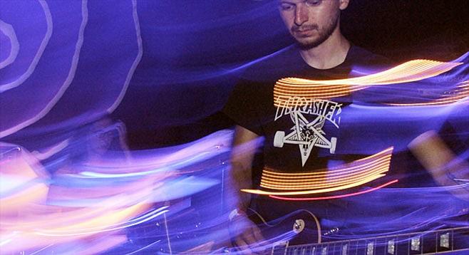 SanFran post-rock band Whirr play Sway at Soda Bar Labor Day night.