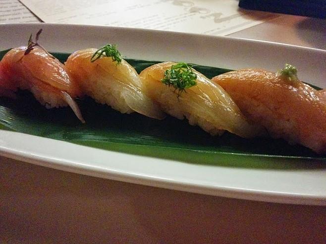 Inexpert sushi at high prices