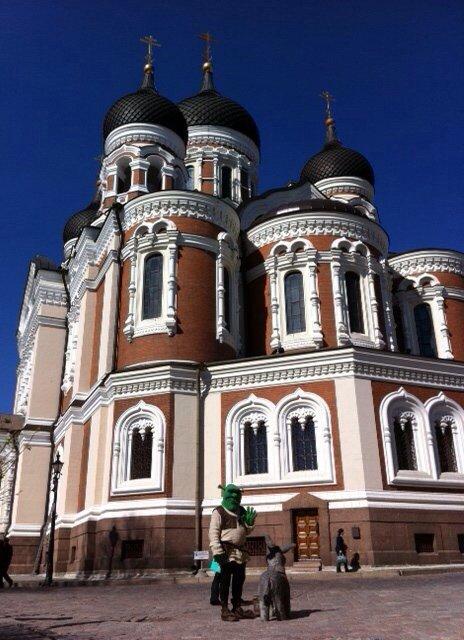 Tallinn, Estonia, like a fairy tale