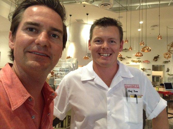 Chad and chef David