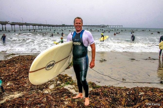 Our surfing Mayor - Ocean Beach 92107