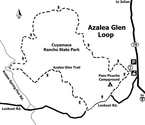 Image Result For Cuyamaca Trail Map