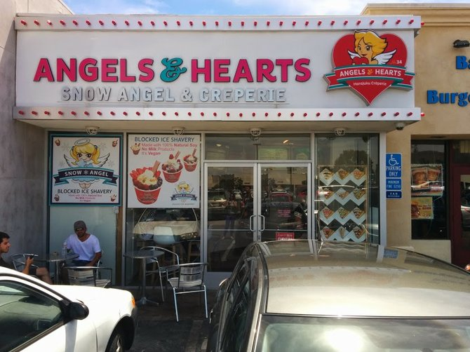 Angels and Hearts, as seen from without