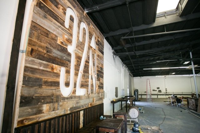 32 North Brewing Company under construction in Miramar