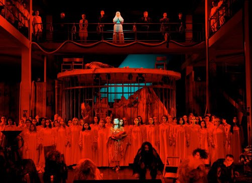 Conclusion of Bayreuth 2014 Tannhauser.