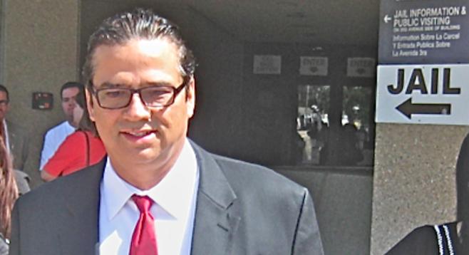 Jesus Gandara at his arraignment, January 13, 2012