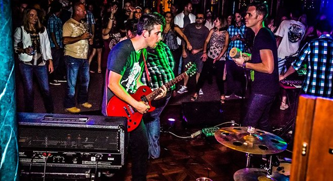 San Diego indie-rock act Oliver Trolley rocked the boat in 2013.