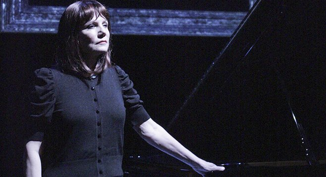Mona Golabek in The Pianist of Willesden Lane at San Diego Rep.