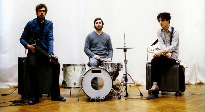 Art punk trio Liars will shake their Mess around Friday night at the North Park Theatre!