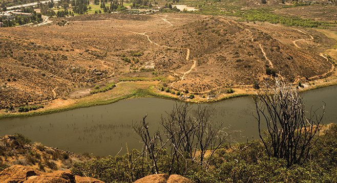 A view of Piedras Pintadas from the peak