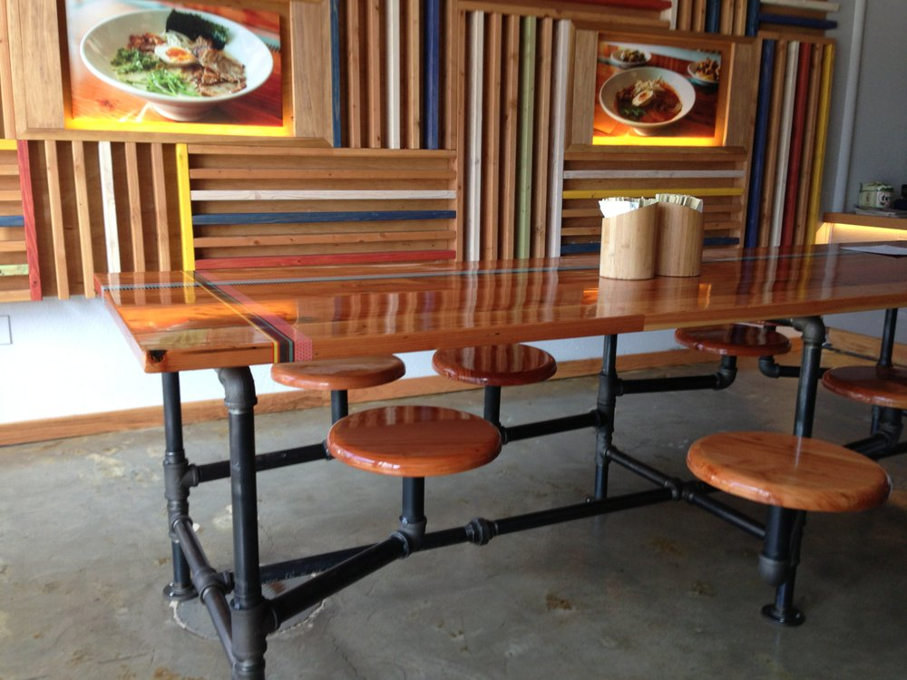 Clever common seating.