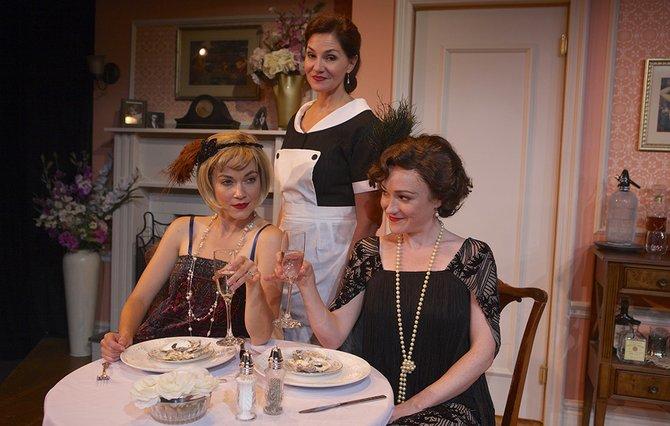 Summer Spiro, Jacquelyn Ritz, Joanna Strapp in Fallen Angels.