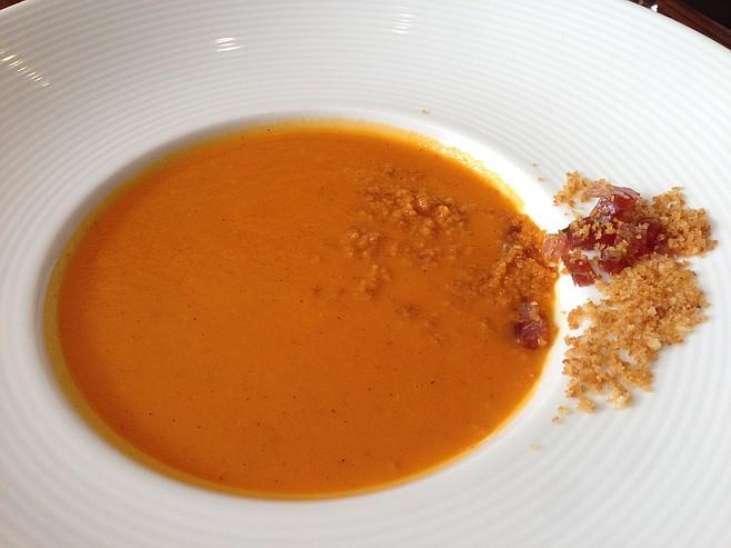 Silky smooth, savory soup