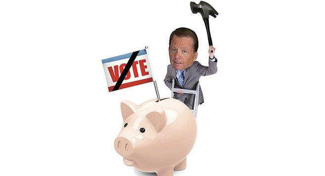 Bob Brewer paid up for his failed electoral bid against Bonnie Dumanis.